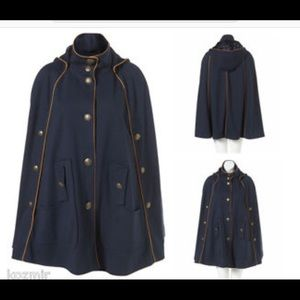 Top Shop Military Cape Coat